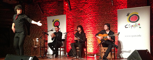The Las Minas Flamenco Tour is presented in Brussels