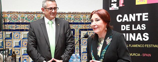 Blanca del Rey será la pregonera de la 56 edición del Festival Internacional del Cante de las Minas de La Unión.