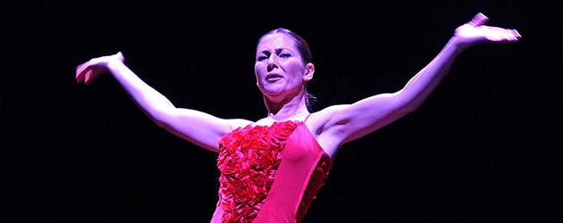 Sara Baras en la Noche Blanca del Flamenco