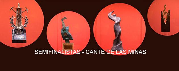Semifinalistas del 56 Festival Internacional del Cante de las Minas