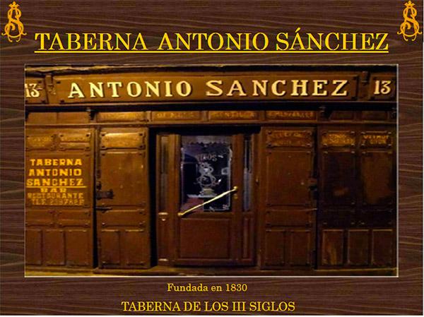 Taberna Antonio Sánchez