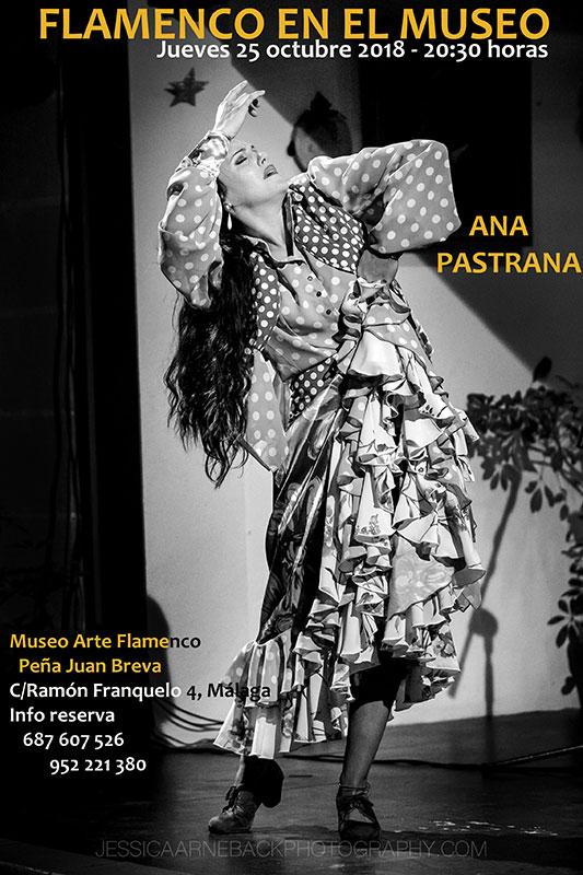 Ana Pastrana - Flamenco en Málaga