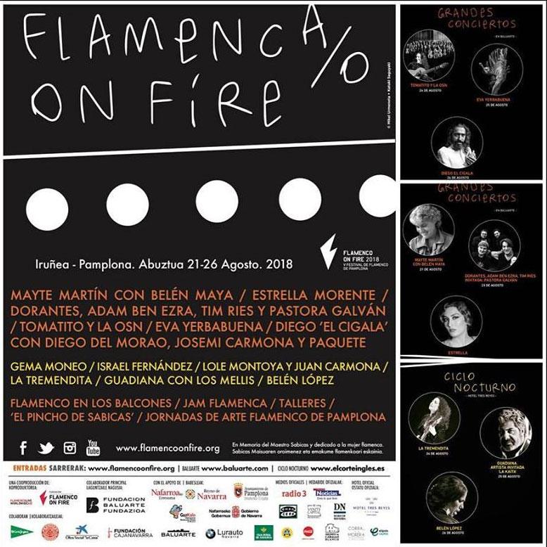Flamenco on Fire - agenda