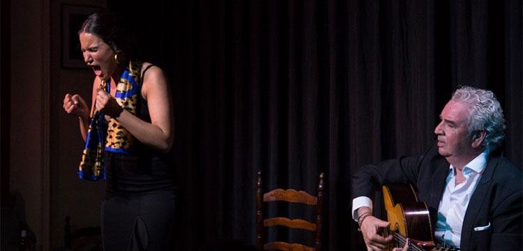 Celia Romero & Paco Cortés en la Sala García Lorca