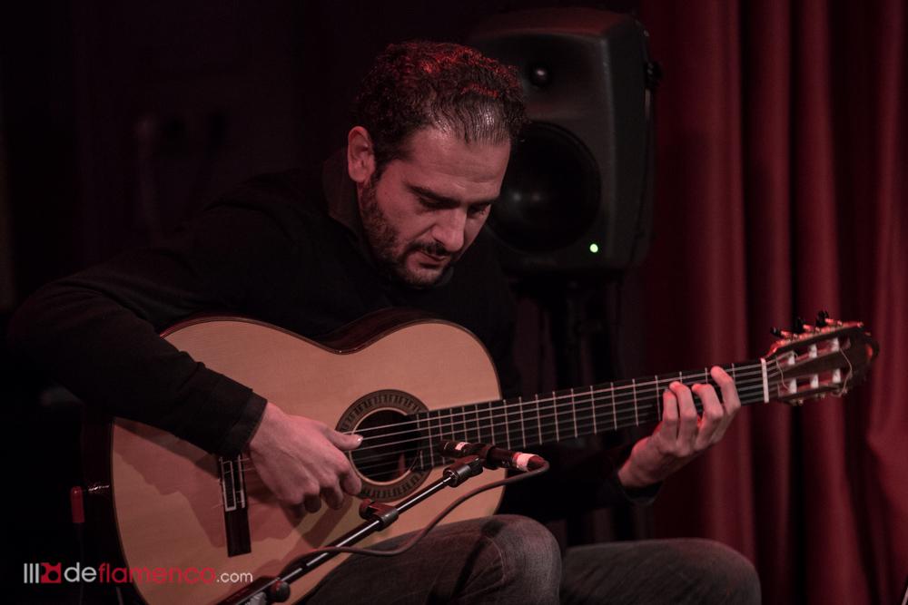 Diego del Morao en el Café Berlín