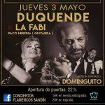 Duquende & La Fabi - Sala Zenith Madrid