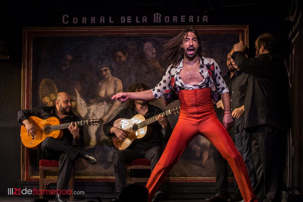 Eduardo Guerrero en el Corral de la Moreria