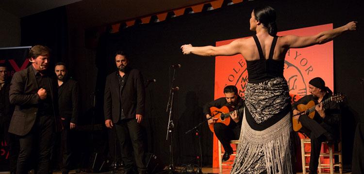 Esther Jurado en el Festival Tio Luis el de la Juliana