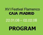 16th Festival Flamenco Caja Madrid 2008