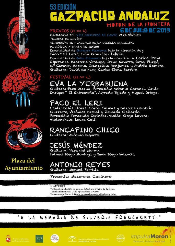 Gazpacho Andaluz Morón de la Frontera 2019