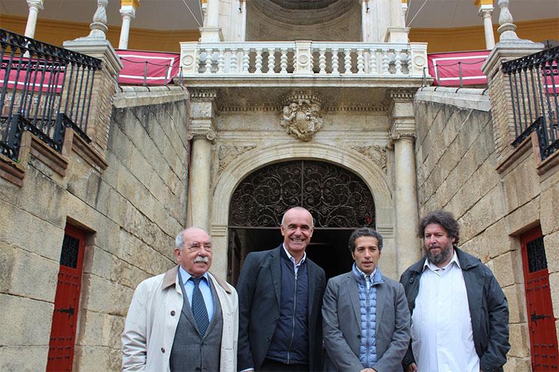 Antonio Zoido, Antonio Muñoz, Israel Galván, Pedro G. Romero