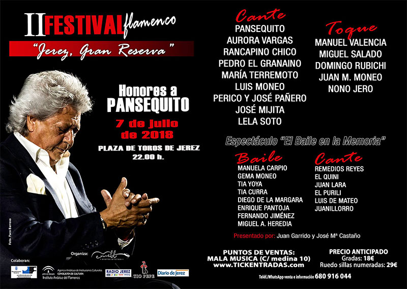 Jerez Gran Reserva - Pansequito