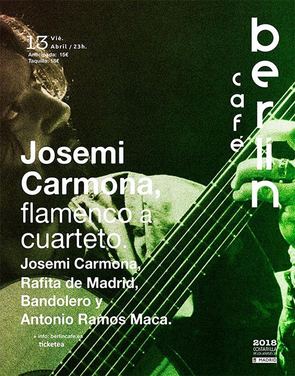 Josemi Carmona - Café Berlín
