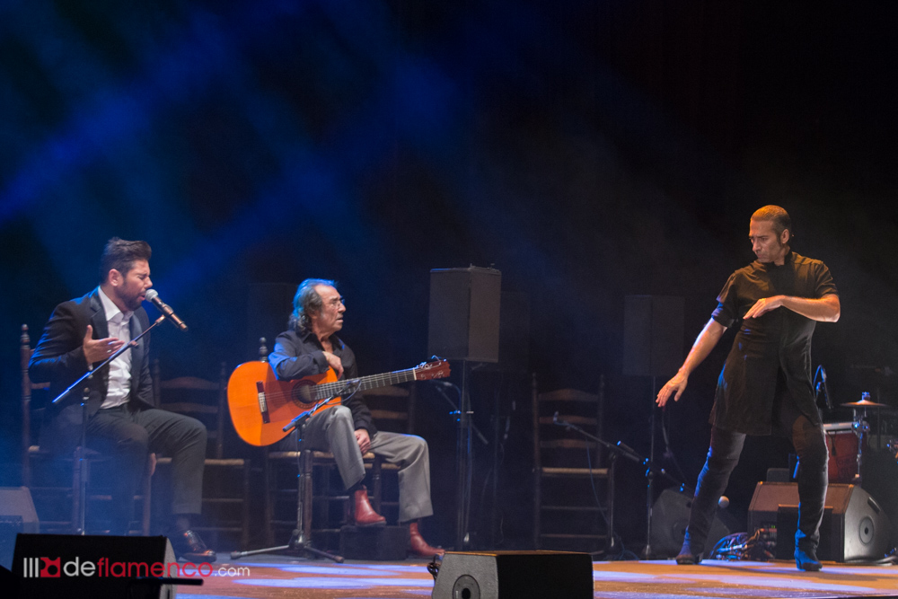 Israel Galvan – Pepe Habichuela 60 años de guitarra flamenca