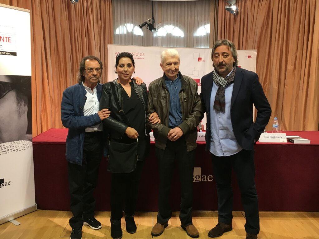 Pepe Habichela, Aurora Carbonell, Balbino Gutierrez, Juan Carmona