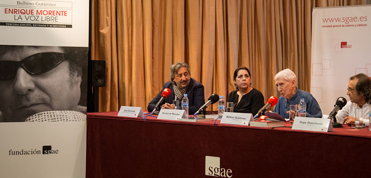 La Fundación SGAE publica 'Enrique Morente. La voz libre'