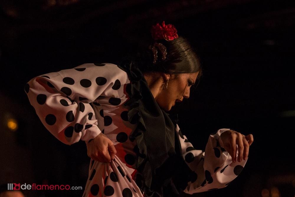 Cristina Aguilera en el 107 aniversario del Tablao Villarosa