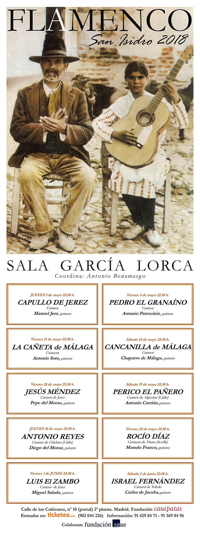 San Isidro Flamenco 2018