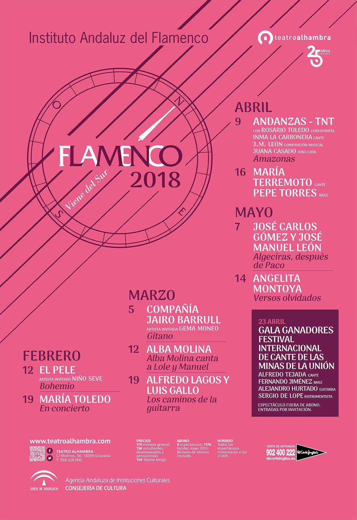 Flamenco Viene del Sur 2018 - Granada