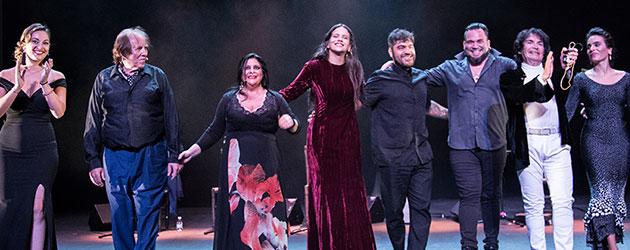Fotografías & videos – Flamenco Joven 2017 – Rosalía, Mercedes Luján, Cristobal Reyes & María Juncal