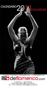 Calendario Flamenco 2011. Fotografías Ana Palma