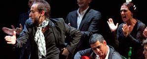 Manuel Liñan en los Jueves Flamencos Cajasol