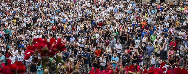 Buscando los 'peros' al Festival Flamenco on Fire de Pamplona