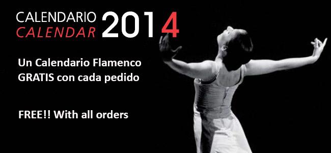 Calendario Flamenco 2014