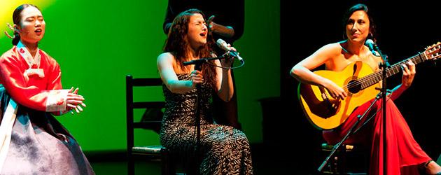Jeong Ga Ak Hoe, Marta Robles i Alba Carmona 'Pansori meets Flamenco'