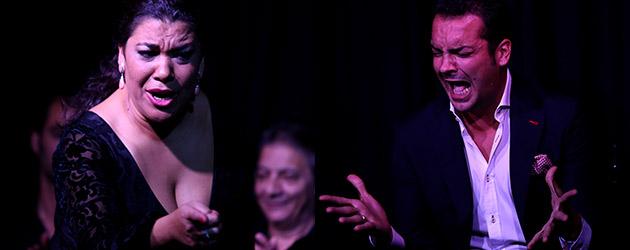 Flamenco en Sala García Lorca: Jesús Méndez / La Macanita, fotografías