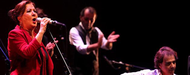 Cu4tro. Carmen Linares, Jorge Pardo, Carles Benavent, Tino di Geraldo. Bienal de Flamenco