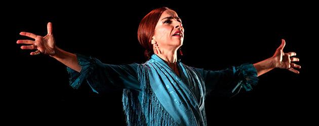 """Isabel Bayón """"Caprichos del tiempo"""" – Bienal de Flamenco. Fotos & video"""