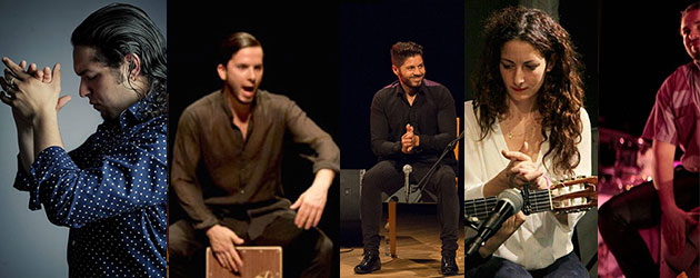 Percussionists and palmeros: the beat of Ciutat Flamenco