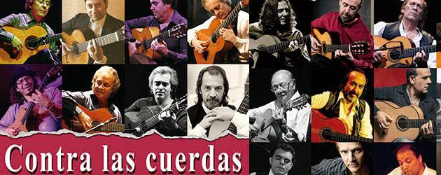 Contra las cuerdas, Antología de entrevistas a maestros de la guitarra flamenca.