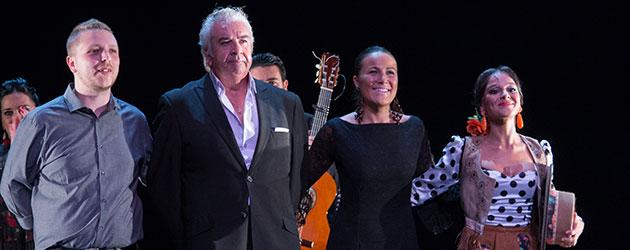 Fotografías & videos – Flamenco Joven 2017. Alejandro Hurtado, Celia Romero, Macarena Ramirez