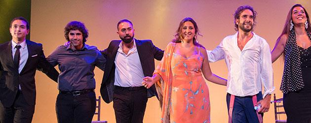 Fotografías & videos – Flamenco Joven 2017 – Alvaro Mora, Lela Soto, David Martin