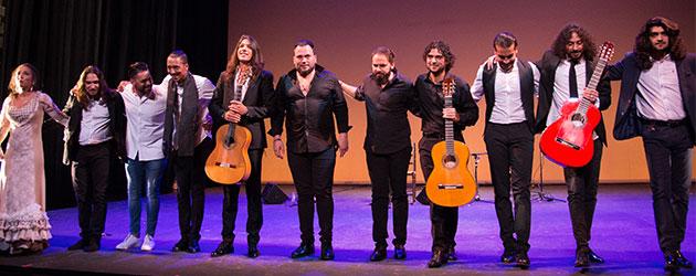 Fotografías & videos – Flamenco Joven. Tomatito hijo, Israel Fernández & Nazaret Reyes