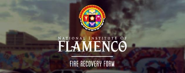 NEW MEXICO FLAMENCO CENTER LOST TO FIRE