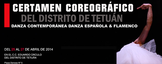1st Choreographic Competition of the Distrito de Tetúan