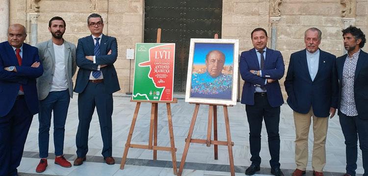 Presentación del 57 Festival de Cante Jondo Antonio Mairena 2018.
