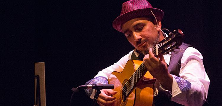 Rycardo Moreno, flamenco and Galeano translator