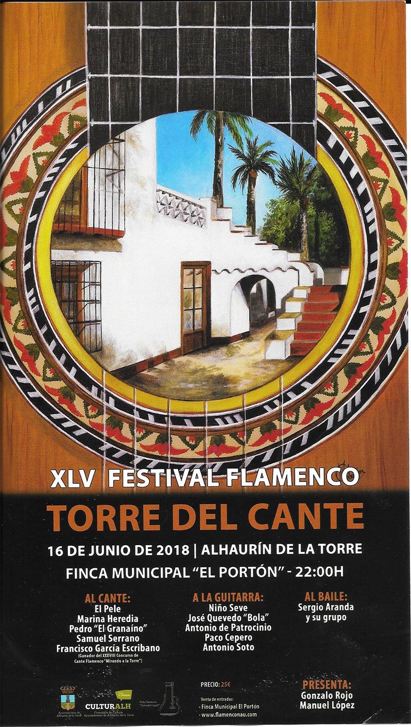 XLV Festival Flameco Torre del Cante