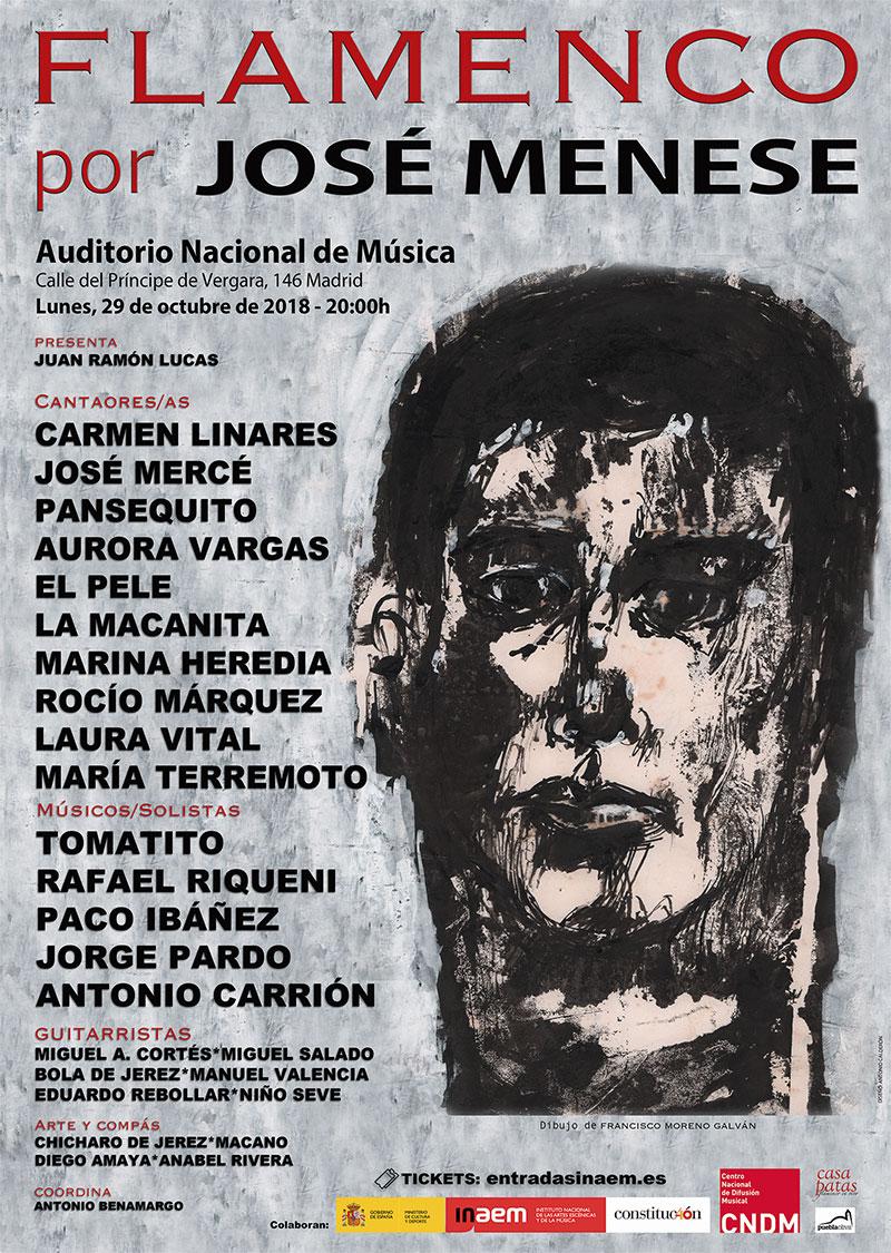 Resultado de imagen de flamenco por jose menese