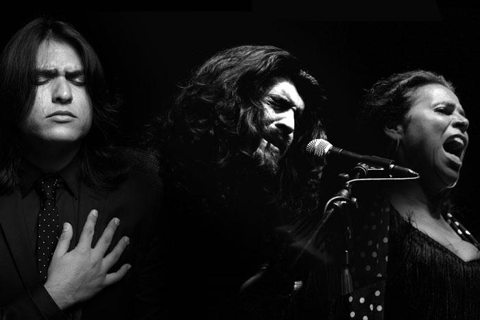 Mimbres del Cante - Samuel Serrano, Israel Fernández, Aurora Vargas