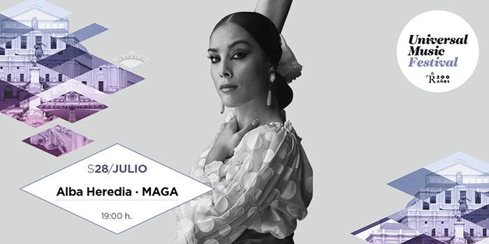 "Alba Heredia – ""Maga"" - Universal Music Festival"
