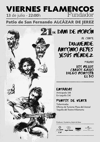 Dani de Morón - Viernes Flamenco de Jerez