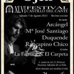 Festival Flamenco Castillo de Ojén - Málaga