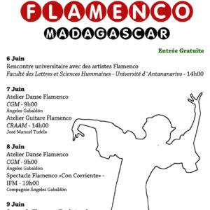 Flamenco en Madagascar