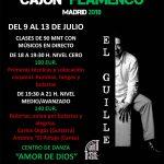 Cursos Verano Cajón Flamenco