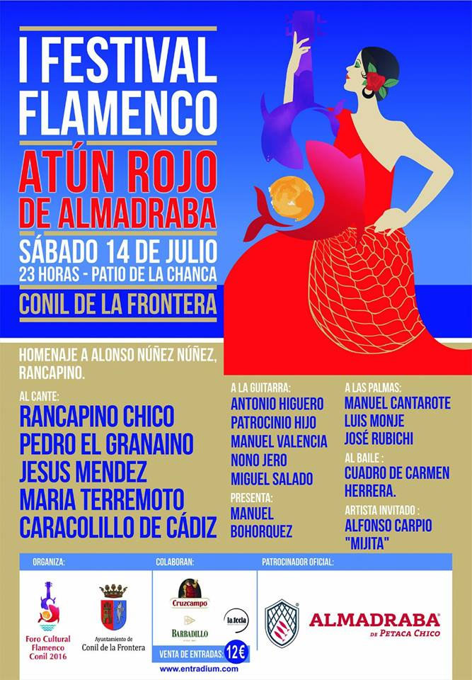 I Festival Flamenco Atún Rojo Almadraba